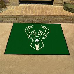 "Milwaukee Bucks 34"" x 43"" All Star Area Rug Floor Mat"