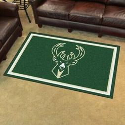 Milwaukee Bucks 4 'x 6' Ultra Plush Area Rug