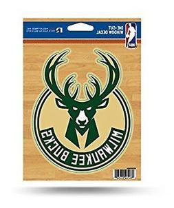 "Milwaukee Bucks 5"" Flat Vinyl Die Cut Decal Sticker Emblem H"