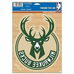 "Milwaukee Bucks WinCraft 6"" x 9"" Car Magnet"
