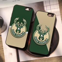 Milwaukee Bucks Basketball NBA Team Silicone Case Cover for
