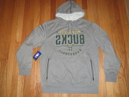 Milwaukee Bucks NBA Brand Sweatshirt Fleece Hoodie Sizes Lar