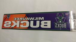 Milwaukee Bucks Bumper Strip Sticker