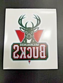 Milwaukee Bucks Cornhole Board Decal NBA Logo Car Vehicle St