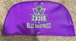 Milwaukee Bucks Court side Club Vinyl Seat Cover RARE Gianni