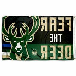 Milwaukee Bucks Fear the Deer Grommet Flag