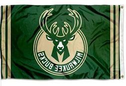 Milwaukee Bucks Flag Banner NBA Basketball