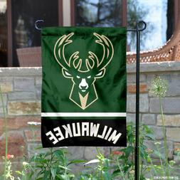 Milwaukee Bucks Garden Flag and Yard Banner