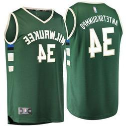 Nike Milwaukee Bucks Giannis Antetokounmpo # 34 Jersey Size