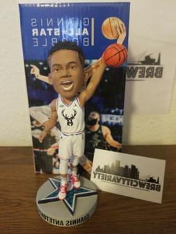 Milwaukee Bucks Giannis Antetokounmpo All Star Bobblehead 20