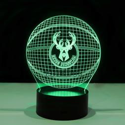Milwaukee Bucks Giannis Antetokounmpo Light Lamp Collectible