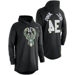 Nike Milwaukee Bucks Giannis Antetokounmpo Name Number Hoode