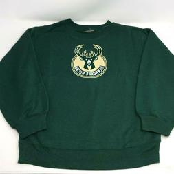 Milwaukee Bucks NBA Green Hoodie Sweatshirt Youth Size Small