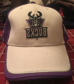 Milwaukee Bucks Twins Enterprise Inc. Baseball Hat/Cap Offic