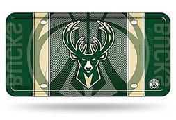 Milwaukee Bucks Jersey Design Metal Tag Aluminum Novelty Lic