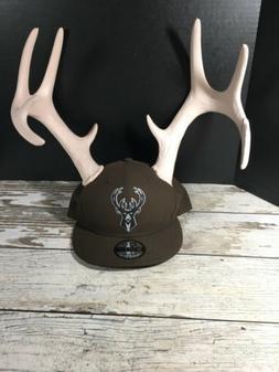 Milwaukee Bucks New Era Limited Antlers 9FIFTY Adjustable Sn