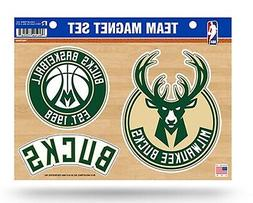 Milwaukee Bucks Multi Die Cut Team Magnet Sheet Heavy Duty A