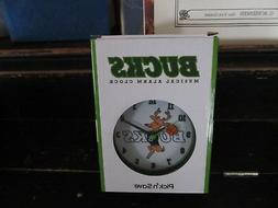 Milwaukee Bucks Musical Alarm Clock WORKS! SGA NEW IN BOX