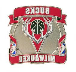 Milwaukee Bucks NBA Banner Logo Pin