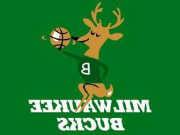 Milwaukee Bucks NBA Basketball 1968 Logo Mens Polo Shirt XS-