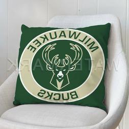 Milwaukee Bucks NBA Custom Pillows Car Sofa Bed Decor Cushio