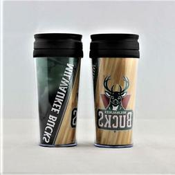 Milwaukee Bucks NBA Licensed Acrylic Tumbler Coffee Mug w/wr