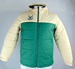 Milwaukee Bucks NBA Mens G-III Full Zip Hooded Winter Jacket
