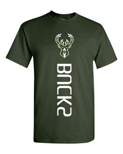Milwaukee Bucks NBA T-Shirt - S-3XL NBA 2019 PLAYOFFS Free S