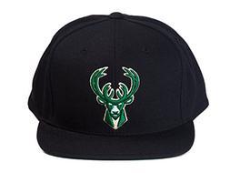 Milwaukee Bucks NBA Mitchell & Ness Team Logo Solid Wool Adj