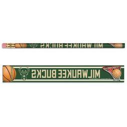 Milwaukee Bucks Pencils 6 Pack