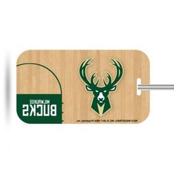 Milwaukee Bucks Plastic Luggage Tag Bag Identification Baske