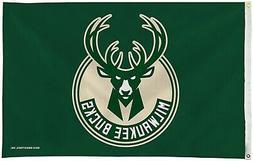 Milwaukee Bucks Premium 3x5 Flag w/Grommets Outdoor House Ba
