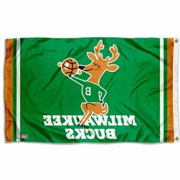 Milwaukee Bucks Retro Hardwood Classics Flag