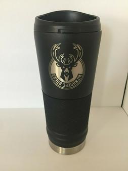 Milwaukee Bucks Stainless Steel Coffee Mug - Tumbler - 24oz
