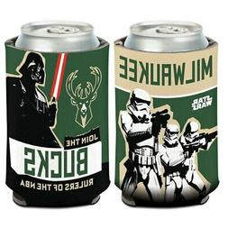 WinCraft Milwaukee Bucks Star Wars Storm Troopers 12oz. Can