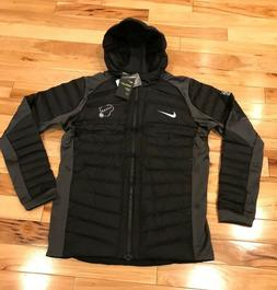 Nike Milwaukee Bucks Team-Issued Aeroloft Jacket Black Silve