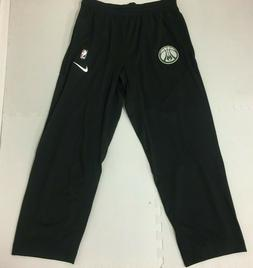 Nike Milwaukee Bucks Team-Issued Showtime Pants Black 859495