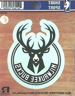 "Milwaukee Bucks 3"" Vinyl Sport Die Cut Decal Bumper Sticker"