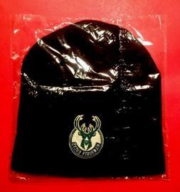 MILWAUKEE BUCKS Winter Knit Hat Cap NBA Basketball SGA Black