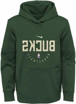 Nike NBA Basketball Youth Milwaukee Bucks Spotlight Pullover