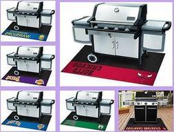 NBA Licensed Barbecue BBQ Grill Mat Vinyl Outdoor Floor Mat
