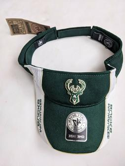 NBA Milwaukee Bucks 47 brand Adjustable green white one size
