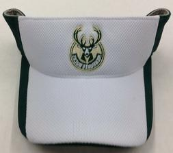 NBA Milwaukee Bucks Adidas Adjustable Fit Sun Visor #W775Z N