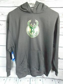 NBA MIlwaukee Bucks Boys Youth XL Majestic Brand Hoodie Swea