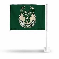 Rico Industries NBA Milwaukee Bucks Car Flag