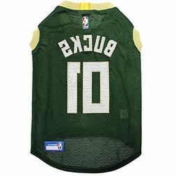 NBA MILWAUKEE BUCKS DOG Jersey Small - Tank Top Basketball P