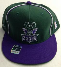 NBA Milwaukee Bucks Adidas Fitted Structured Cap Hat Beanie