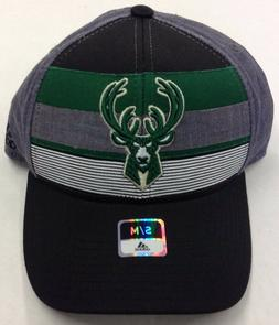 NBA Milwaukee Bucks Adidas Flex Fit Cap Hat Beanie Style #M7