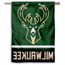 NBA Milwaukee Bucks House Flag and Banner