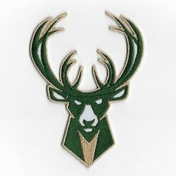 NBA Milwaukee Bucks Iron on Patches Embroidered Badge Patch